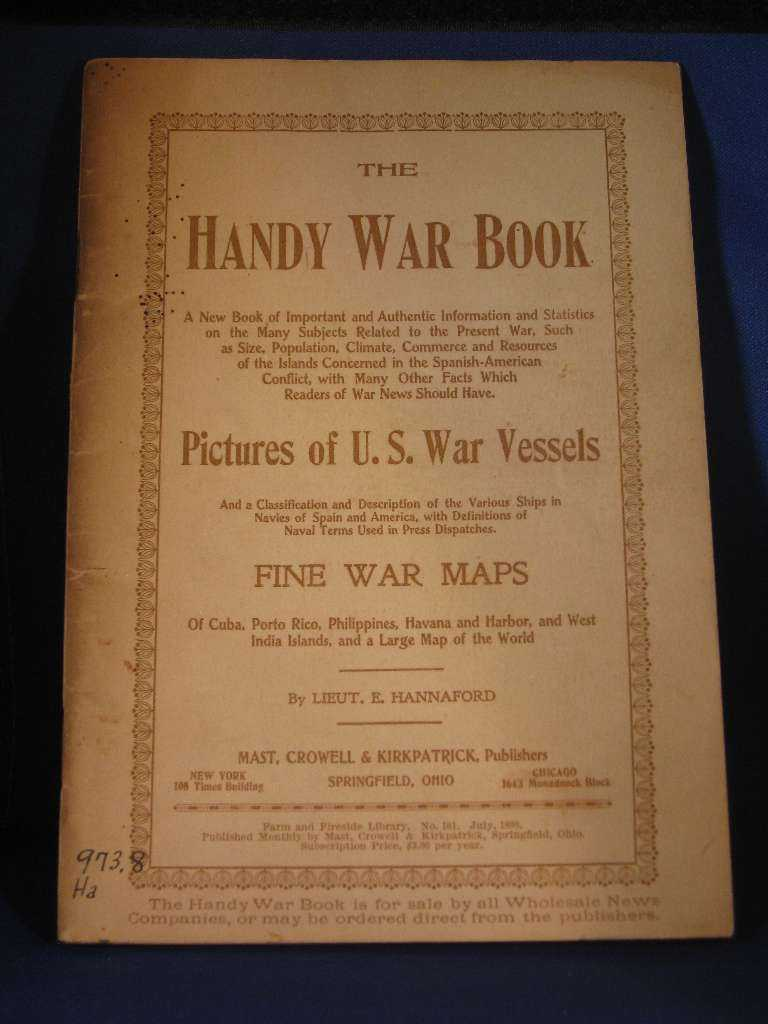 Image for THE HANDY WAR BOOK